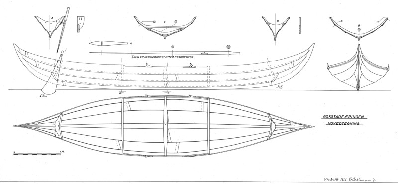 ... planning on building an 18' replica viking ship in plywood lapstrake